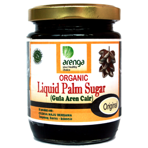 Organic Liquified Palm Sugar Jar