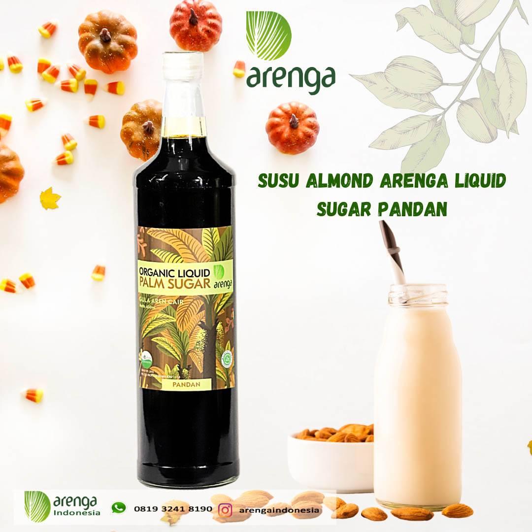 Arenga Gula Aren Cair Pandan Untuk Susu Almond