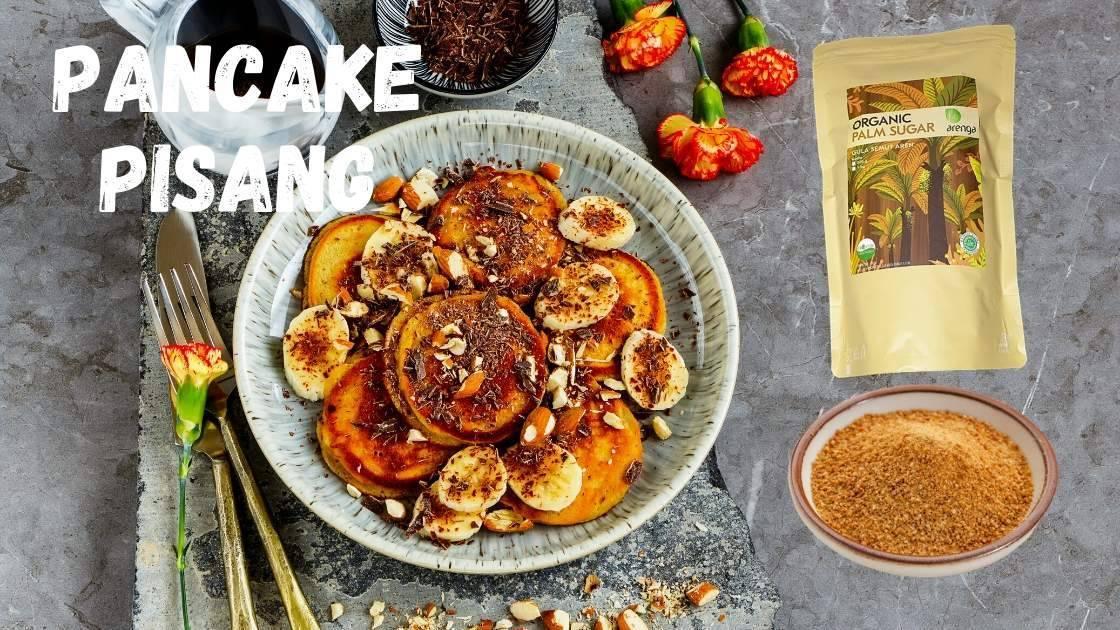 Resep pancake pisang gula aren