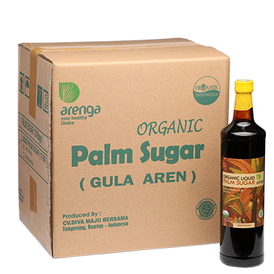 Arenga palm sugar cair