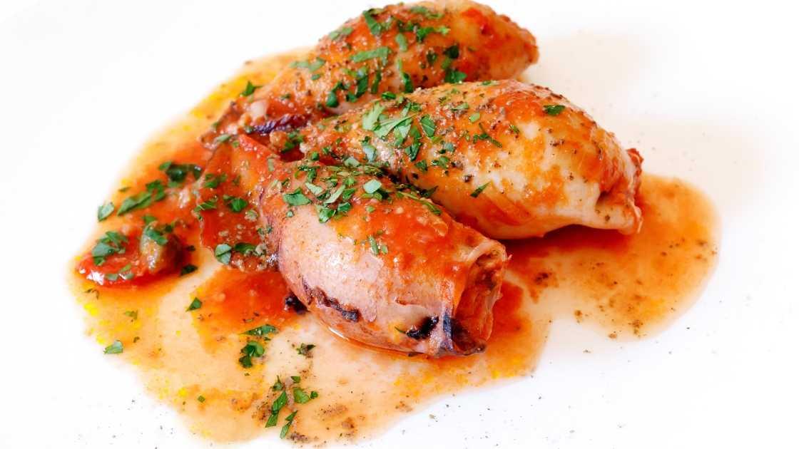 Resep Masakan Cumi Basah Anti Gagal Cumi saos tomat