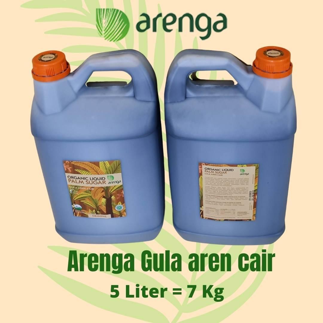 Arenga gula aren cair kemasan 5 liter
