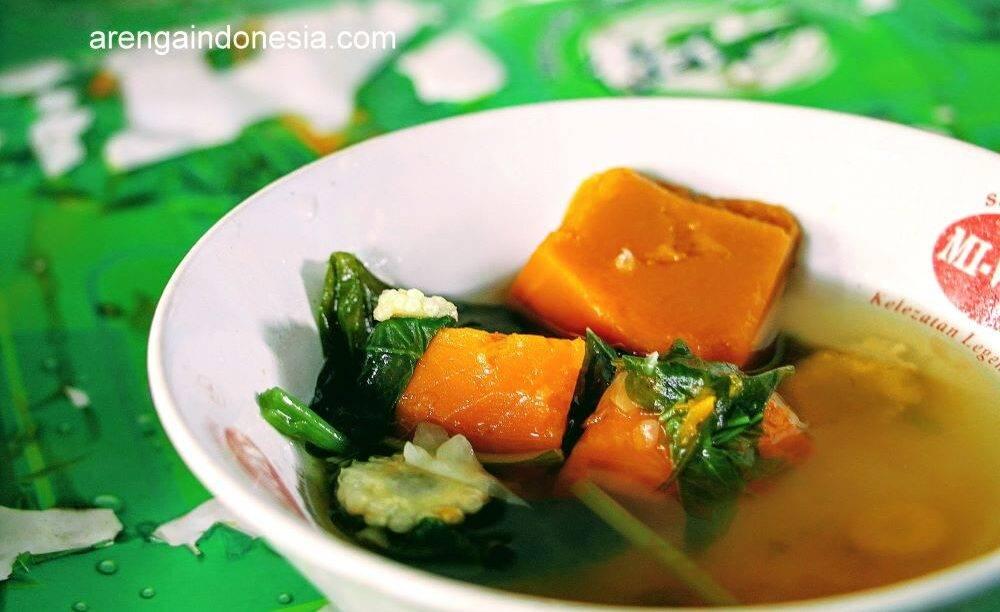 Sayur bening waluh khas Banjar